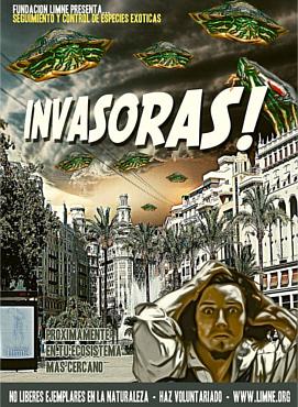 tortugas invasores poster