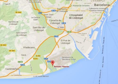 La Reserva Natural del Remolar-Filipines se encuentra en Viladecans, muy cerquita de Barcelona.