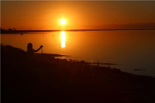 Foto de la salida de sol.