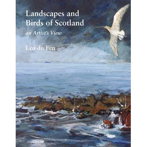 "Libro de Leo du Feu ""Landscapes and Birds of Scotland"". Una delicia."