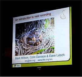 Grupo del BTO que realiza seguimiento y registro de nidos de aves.
