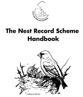 Nest Record Scheme Handbook de BTO