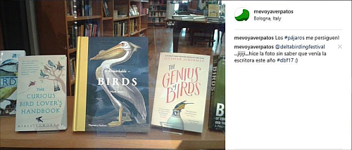 "Foto del Instagram del libro ""The Genius of Birds"""