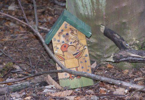 Precisosa caja nido en Carberry Woodlands - Escocia